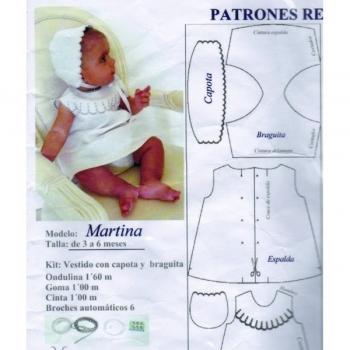 Padrão Recortável - Martina